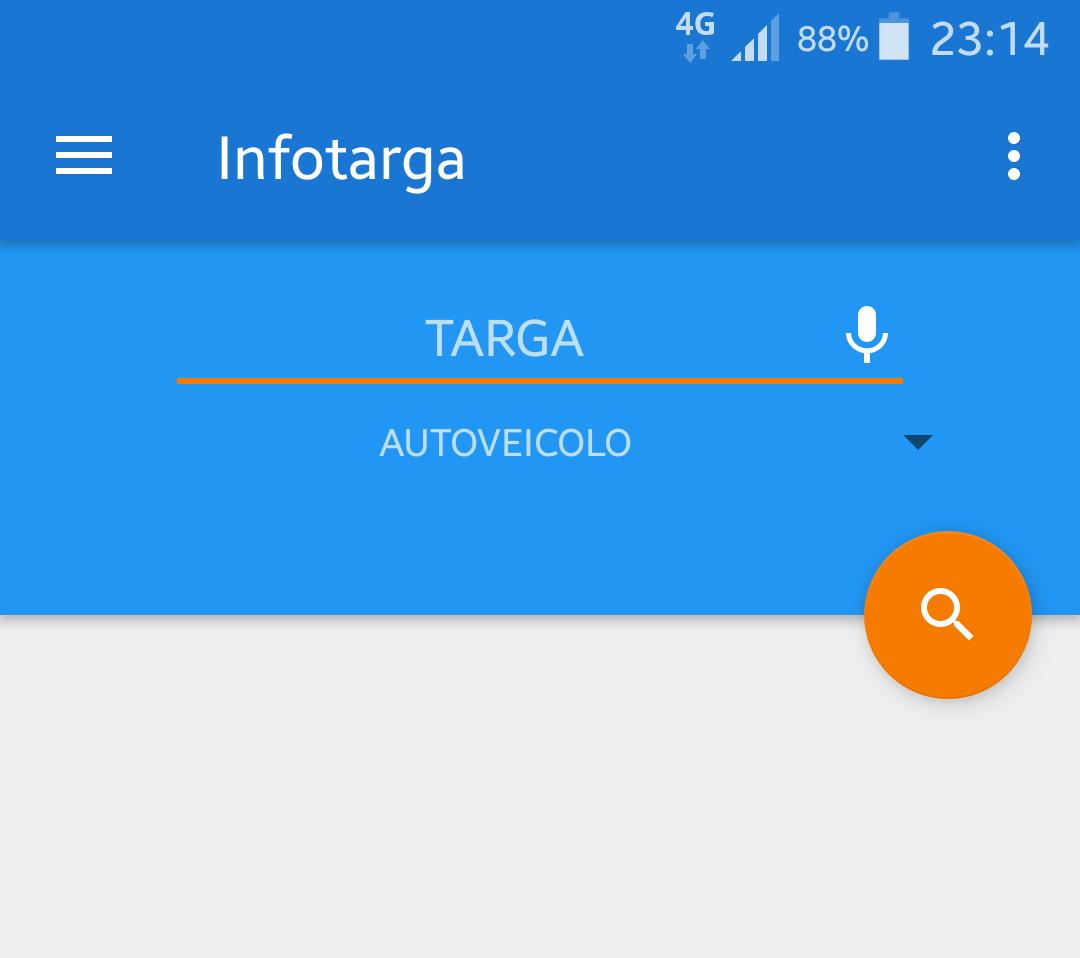 Come ottenere le informazioni di un veicolo dalla targa | App Android