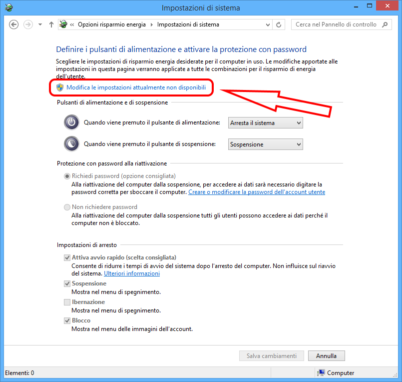 Come spegnere completamente Windows 8.1/10 3