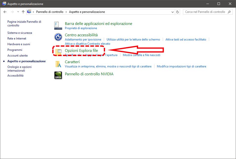 Come aprire di default Questo PC al posto dell'Accesso rapido su Windows 10 2
