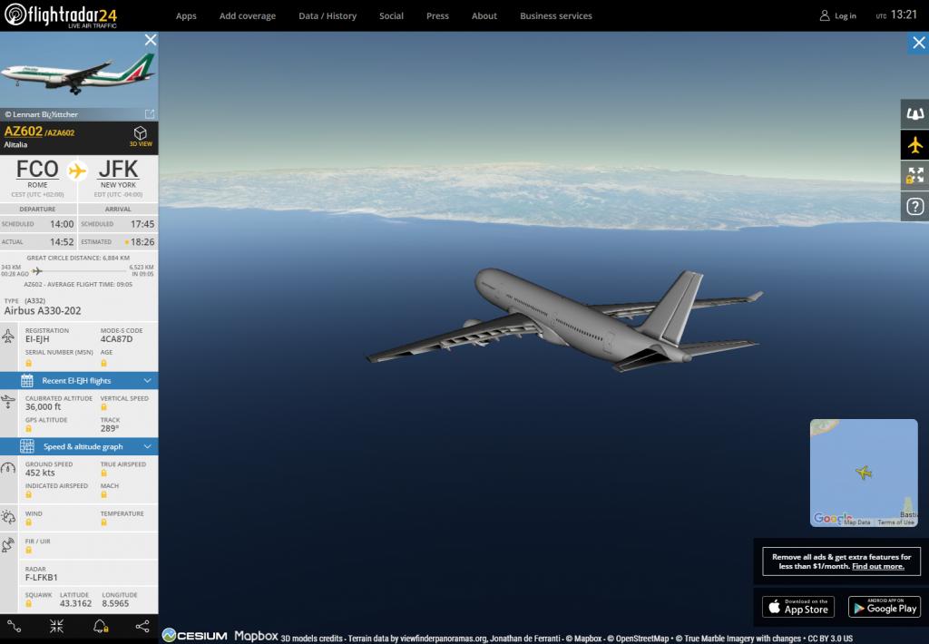 Come seguire la posizione dei voli in tempo reale 4