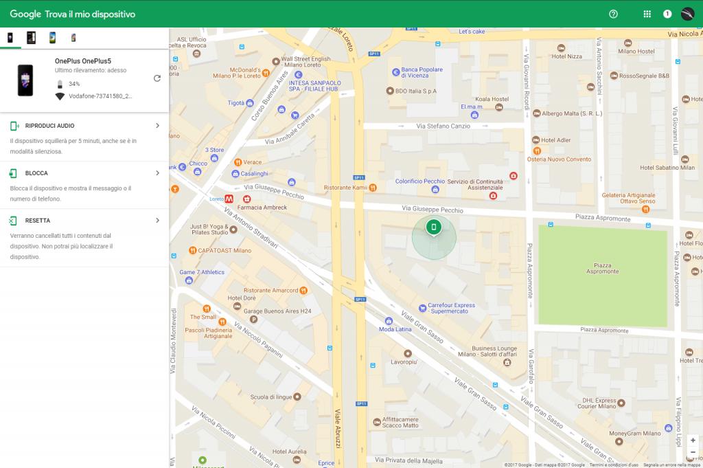 Come localizzare uno smartphone Android