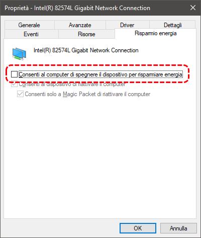 """Come risolvere """"il dispositivo o la risorsa remota non accetta la connessione"""" su Windows 4"""