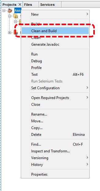 Come creare un file Jar con NetBeans 3