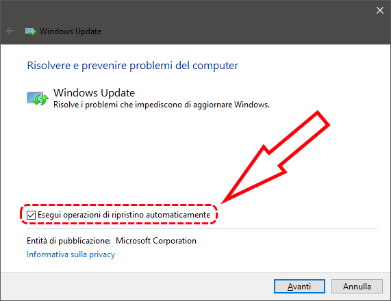 Come sbloccare Windows Update quando rimane bloccato 4