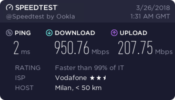 Come avere una connessione Internet estremamente veloce logo