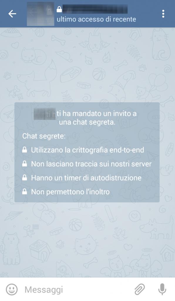 Chat segrete