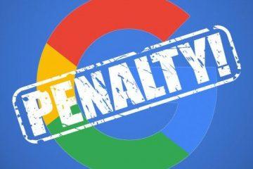 Come evitare che il tuo sito venga penalizzato da Google logo
