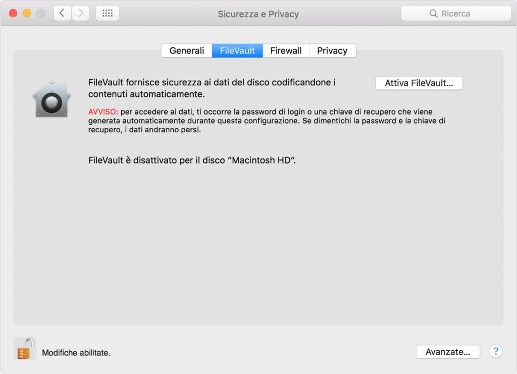Come mettere i tuoi dati al sicuro su Mac? 3