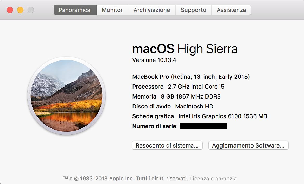 Come scoprire informazioni sulle componenti del tuo Mac? 2
