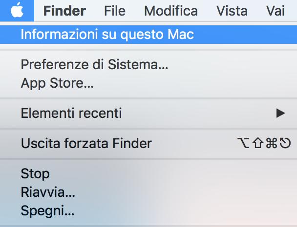 Come scoprire informazioni sulle componenti del tuo Mac?